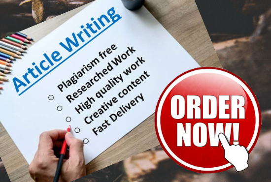 I will write SEO article or blog post for you on any topic