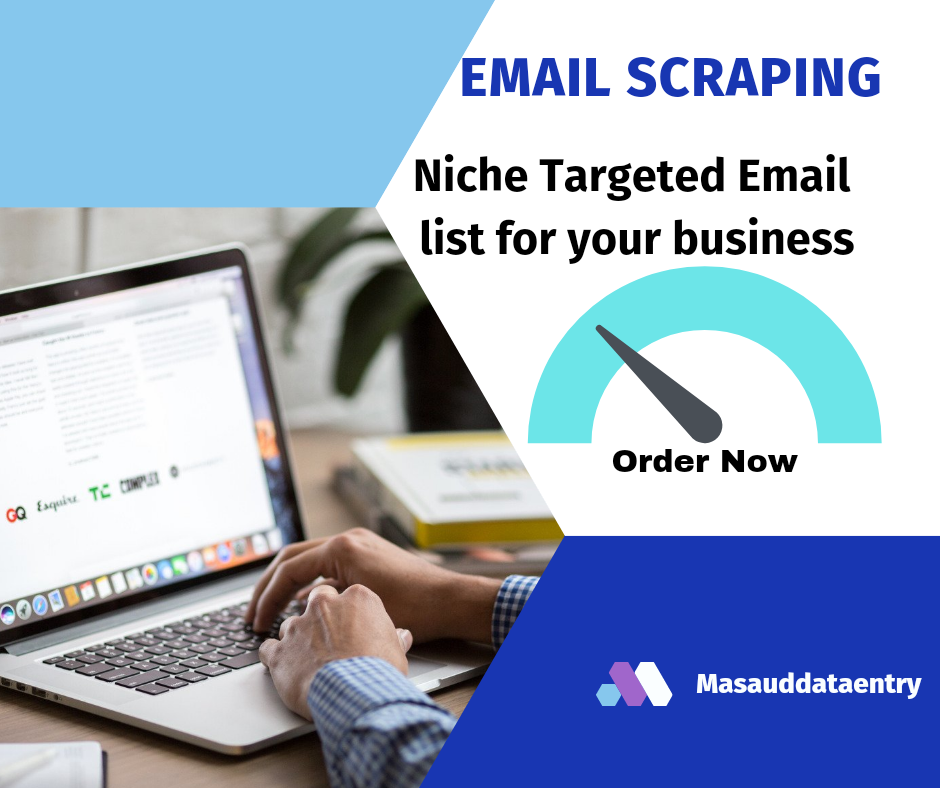I will do Scrape niche targeted email list