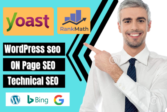 I will do Complete on page SEO and technical SEO for your WordPress site
