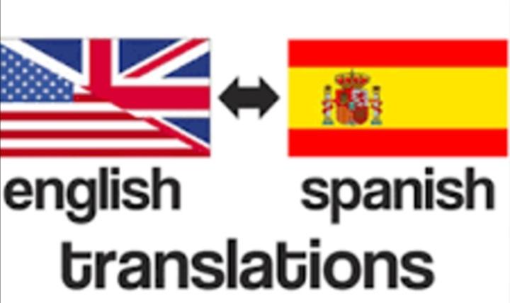 Translating english to Spanish