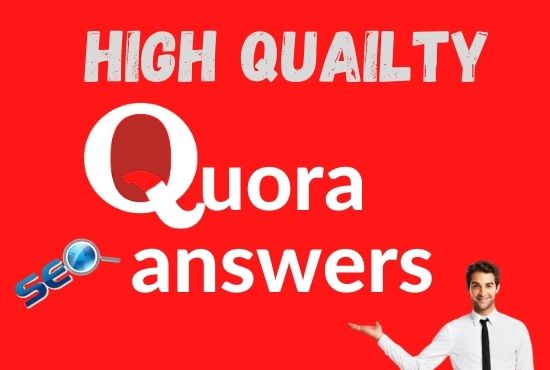 I will rank your website with 10 High Quality Quora answers