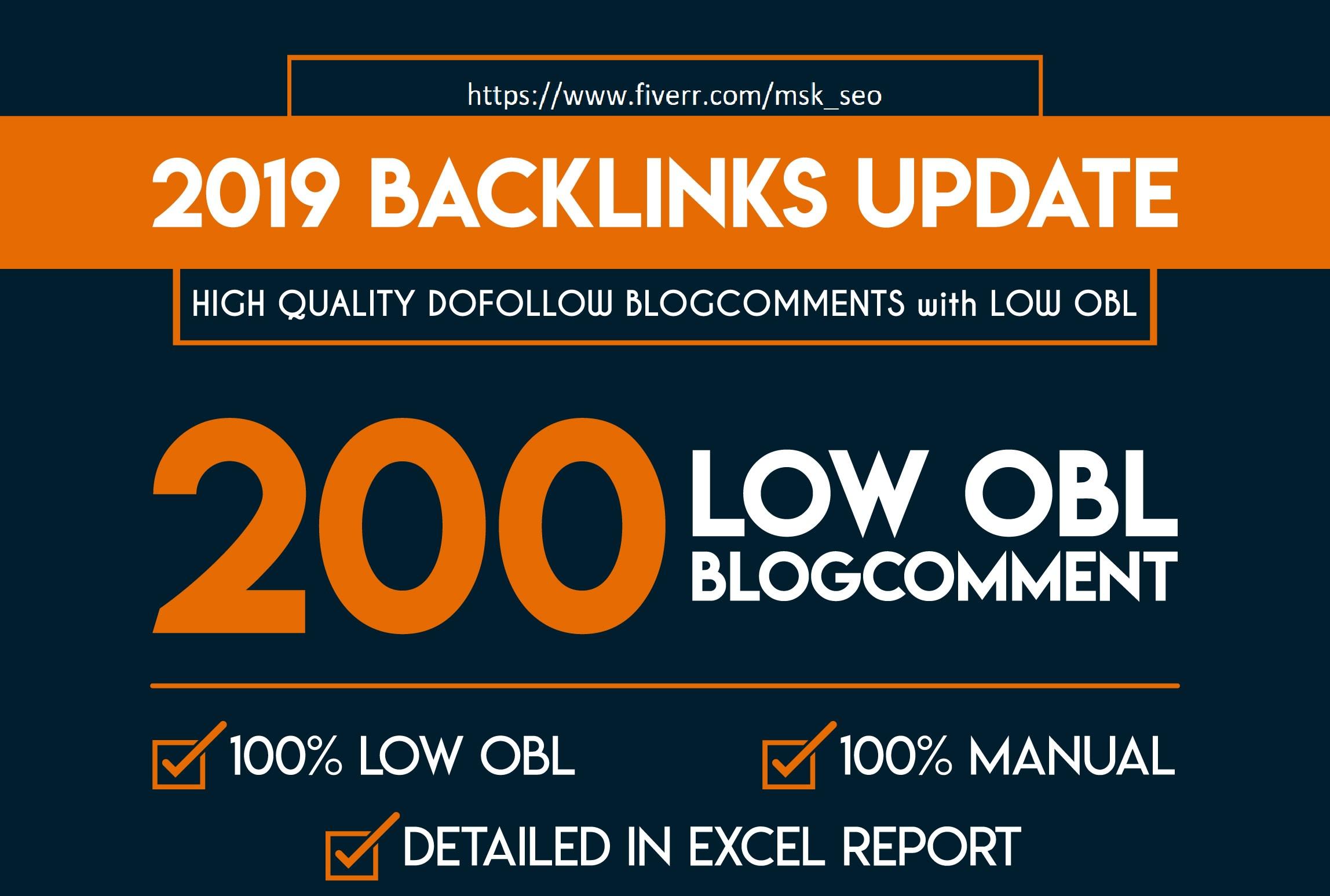 I will do 200 manually high da dofollow blog commenting