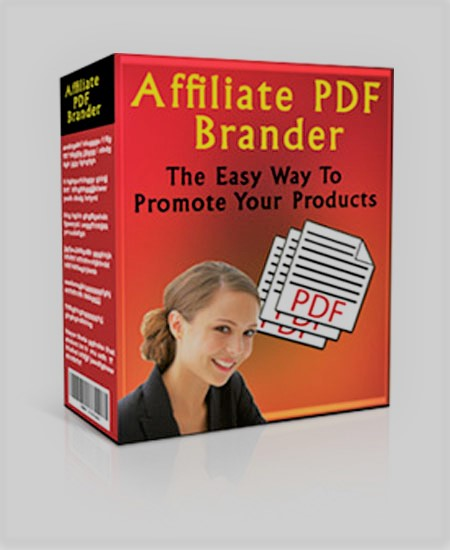 PDF brander of affilate for easy to promote