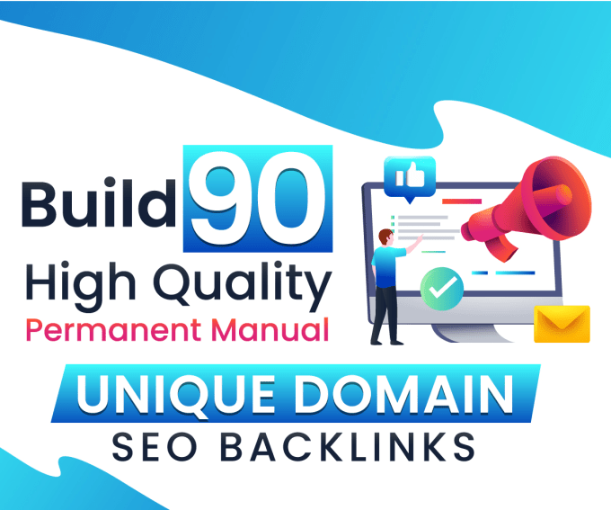 I will do 90 unique dofollow blog comments high authority backlinks