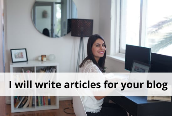 I will write SEO-Friendly articles for your blog 1000 words