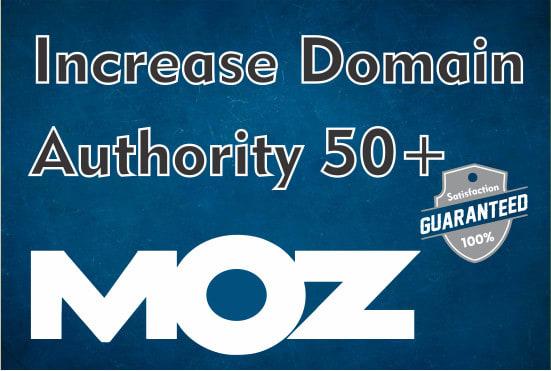 I Will Increase Domain Authority DA 50+