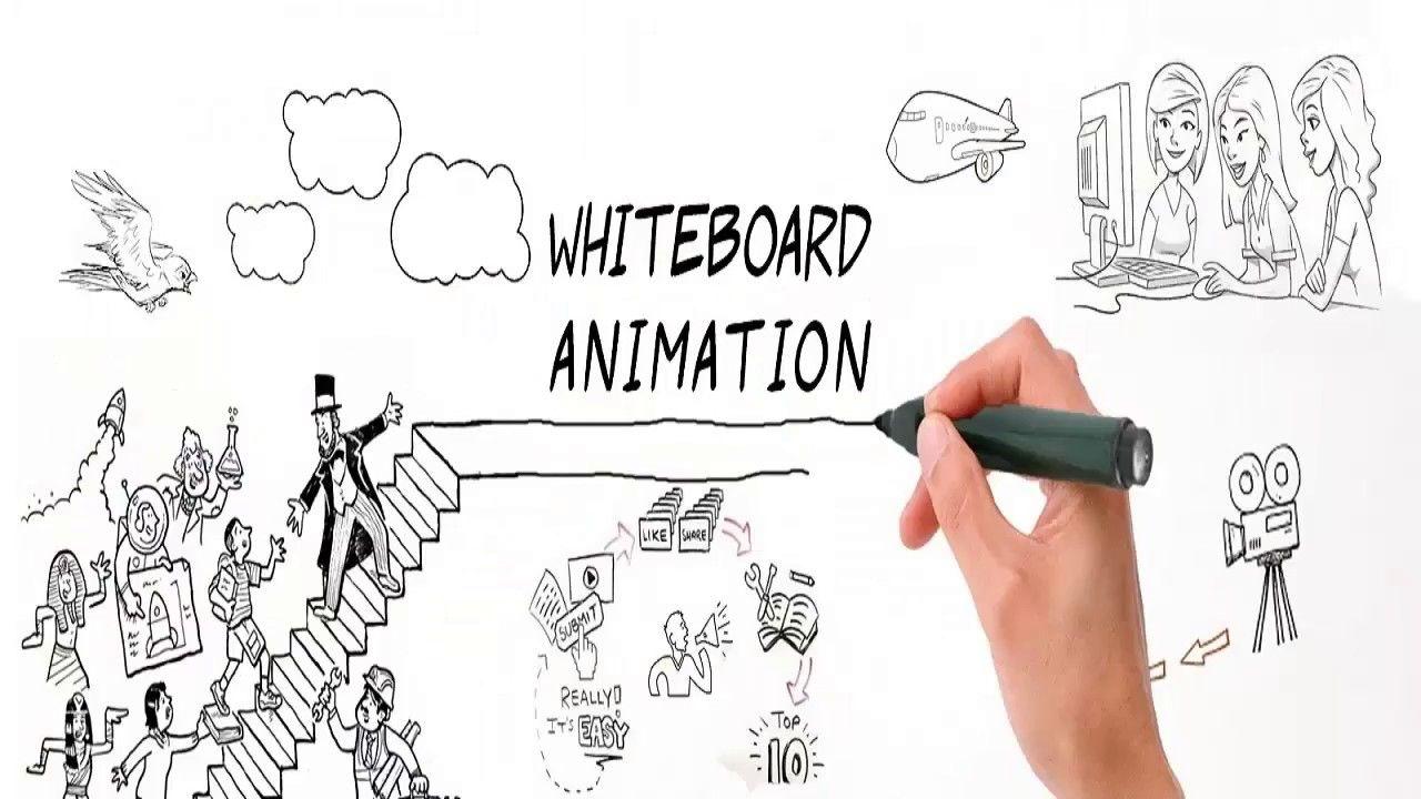 Create Stunning and Eye Catching Custom Whiteboard Animation Videos