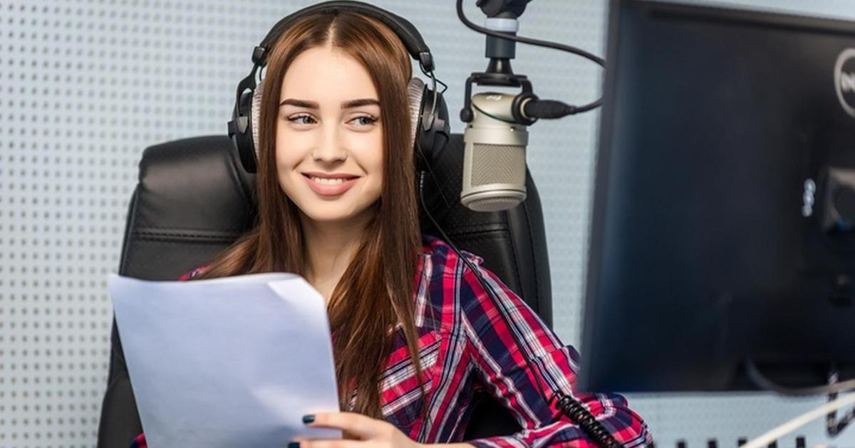 Record a voice over from your text