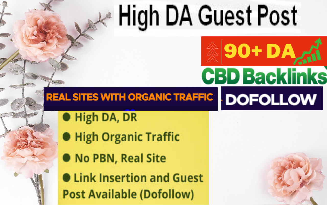 I will Build Guest Posting on high authority blogs with dofollow backlinks