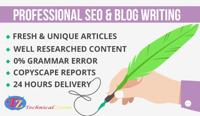 I will do SEO article writing in 24 hours fast delivery