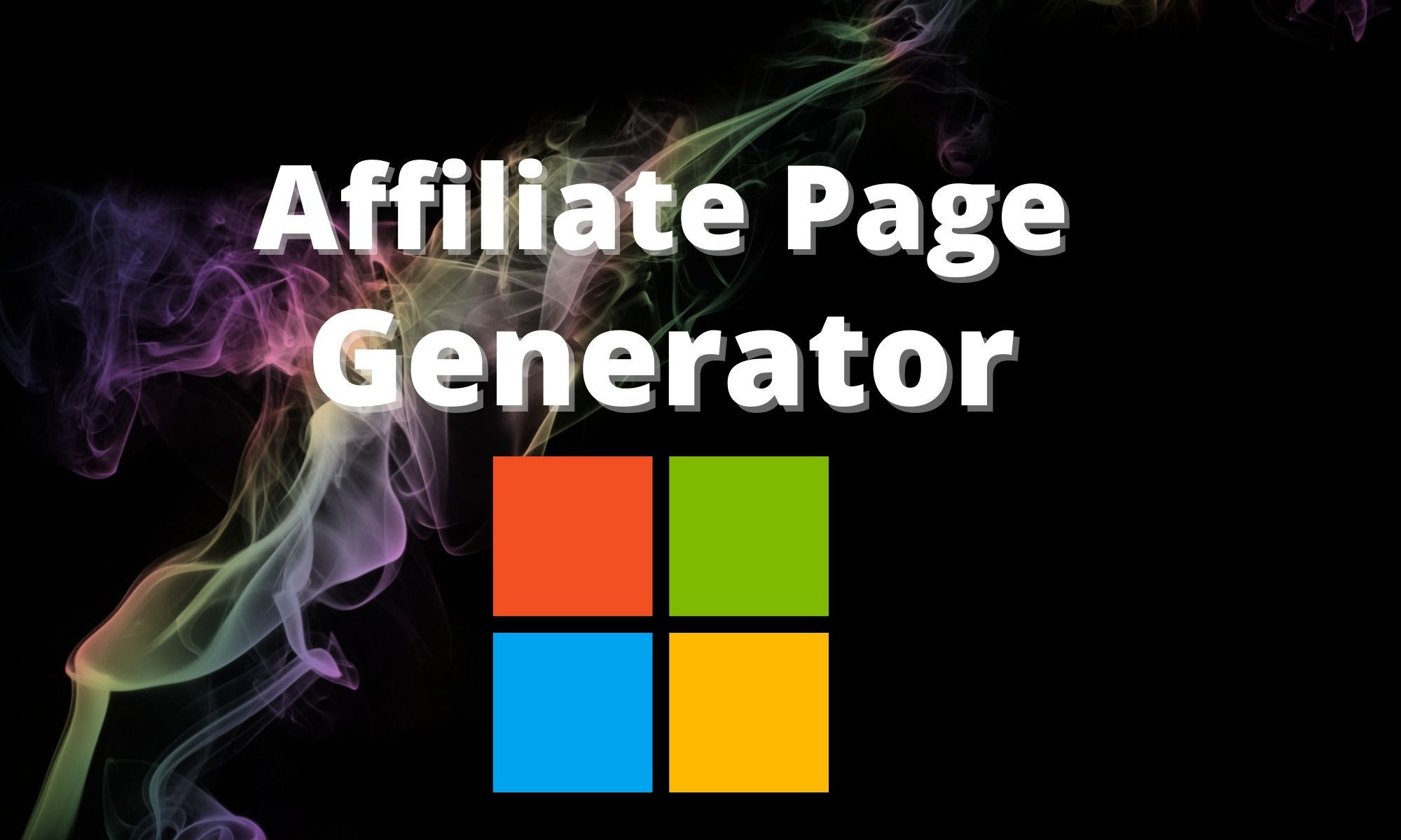 Easy Affiliate Page Generator for Windows all