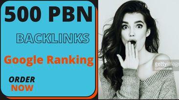 I will create pbn 500+ high quality contextual dofollow seo Backlinks service
