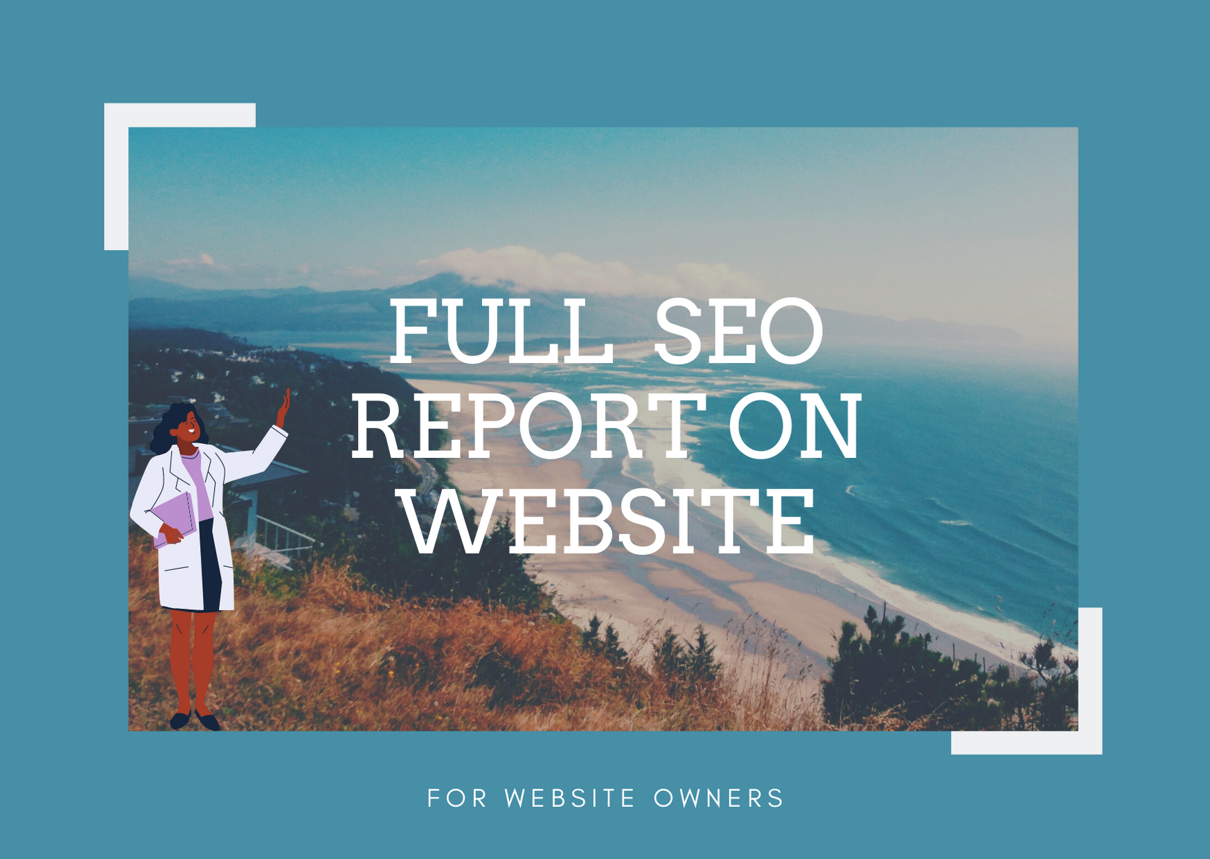 Get a full and simple detailed SEO report for your website