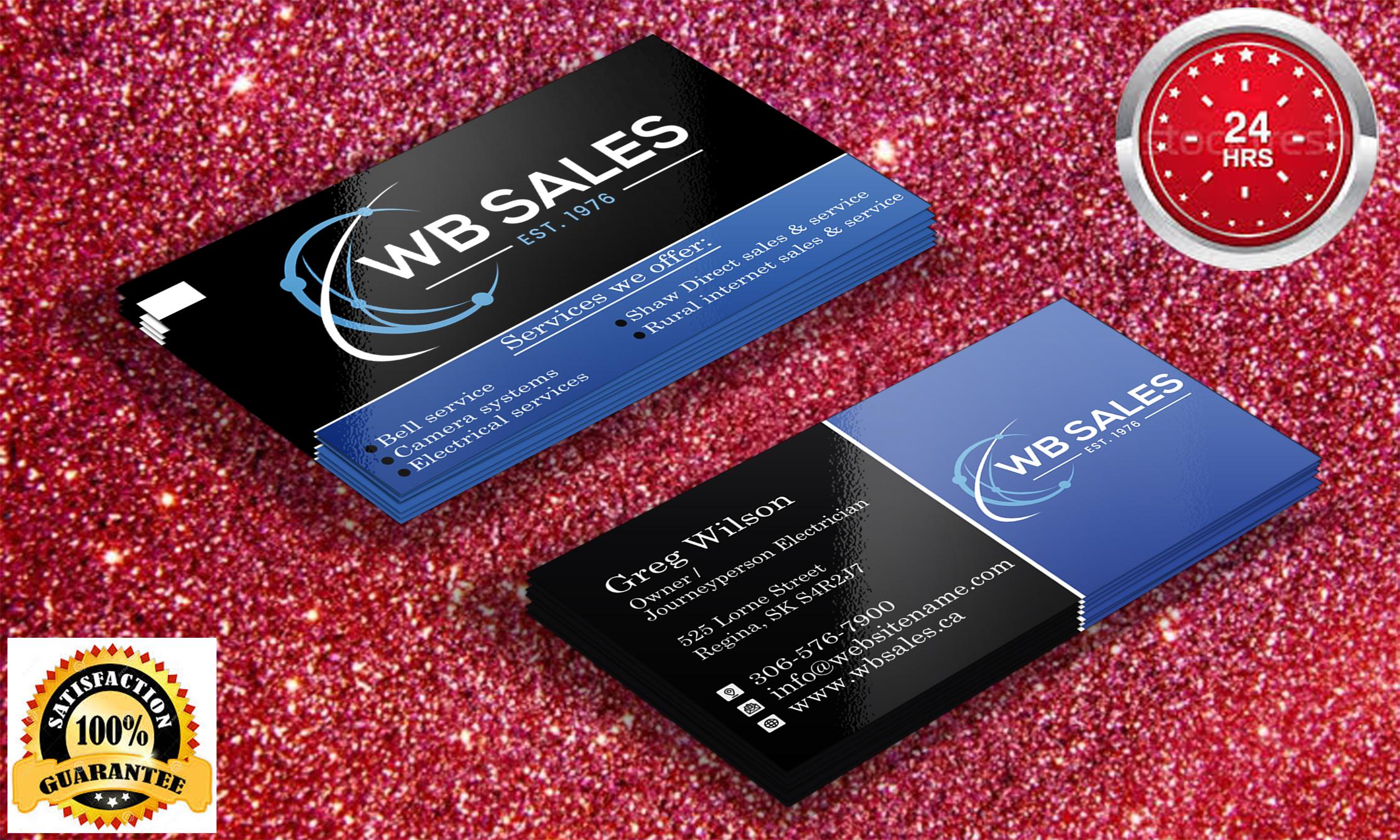 I will provide professional unique business card design service