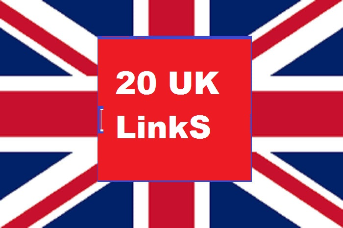 build 20 high quality SEO co uk links,  backlinks,  guest post