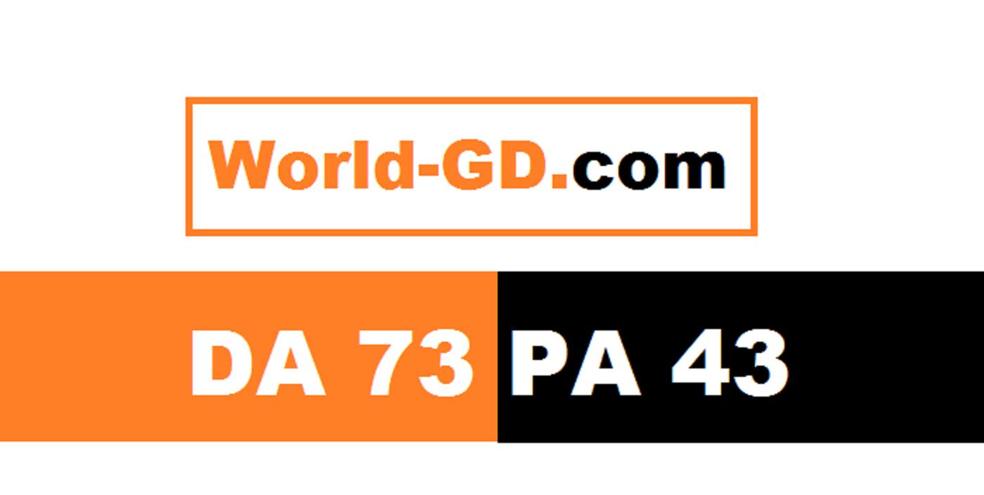 guest post on my news blog world-gd DA 73
