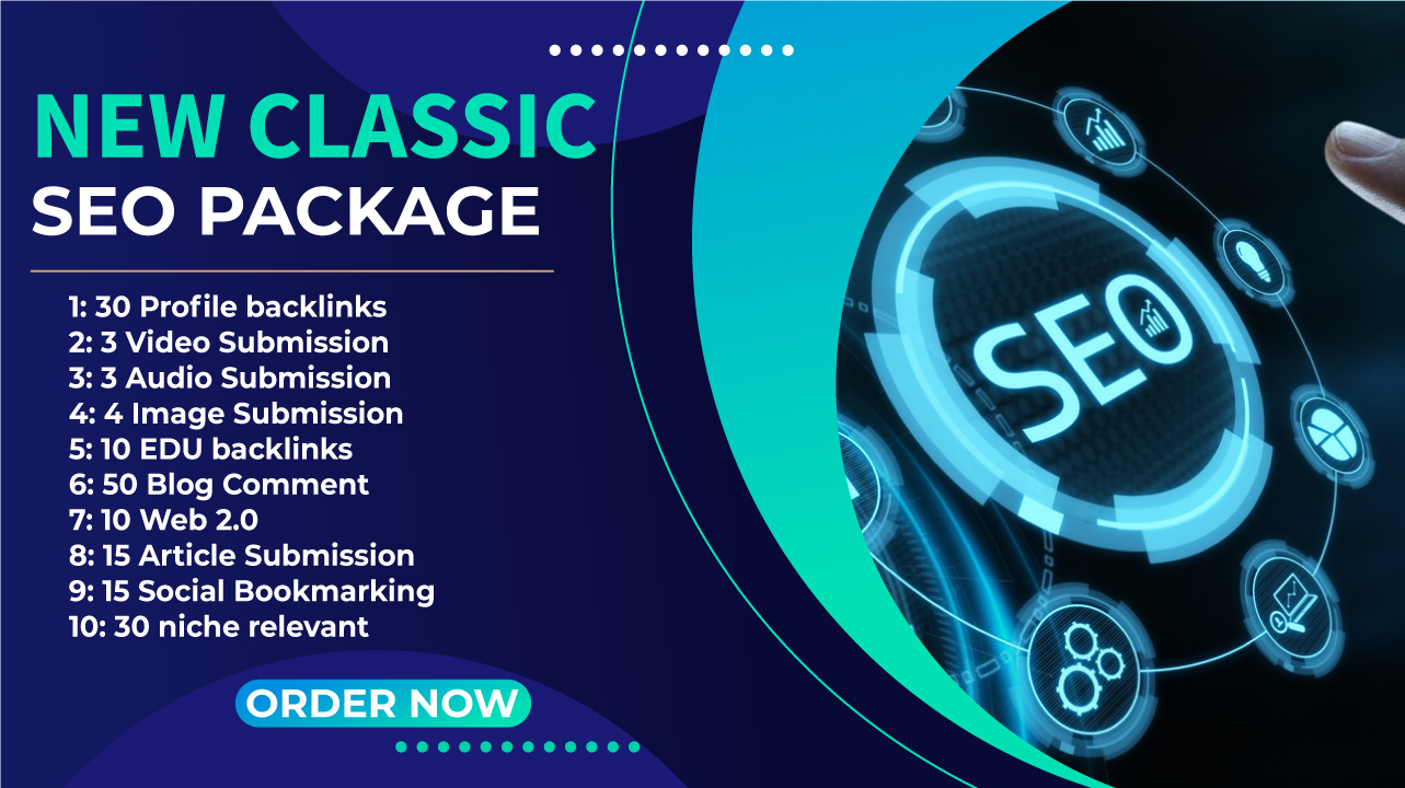 I will provide New Classic SEO Package Manual High DA PA and Low Spam Score