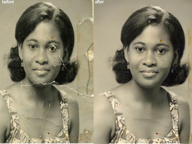 I will colorize& restore black and white photo
