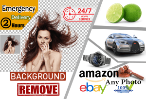 I will do 20 to 250 photos background removal and crop image