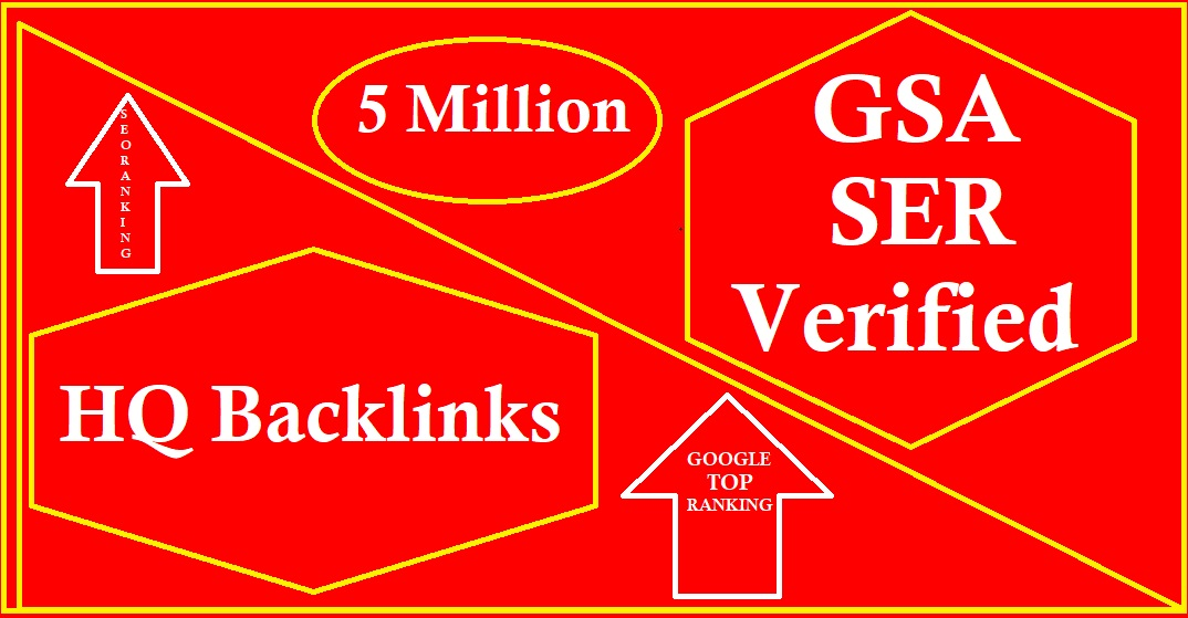 5 Million Dofollow Backlinks for your website ranking in the google