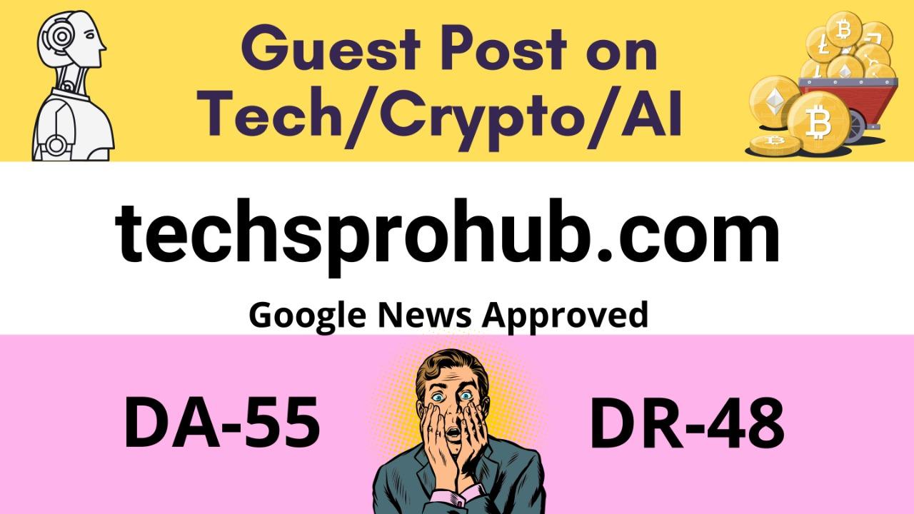 Publish a Do follow guest post on DA55 & DR48 google news website