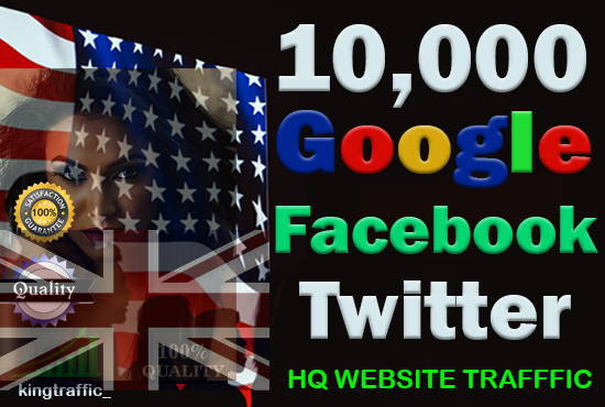 10000 Active Country Targeted HQ Website Traffic For 10 Days