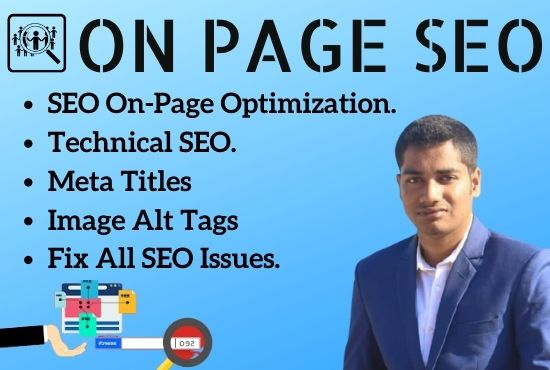 I will do WordPress,  Wix on page SEO optimization and technical optimization