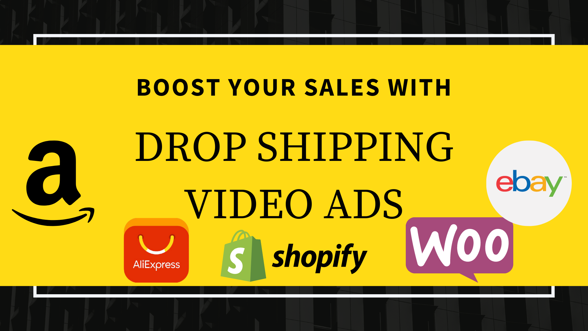 I will create shopify dropshipping facebook product video ads
