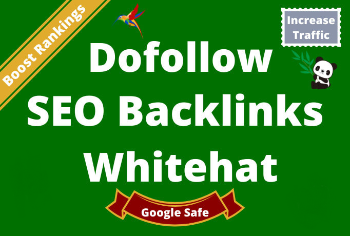 I will build 70 high quality dofollow SEO backlinks link building google top ranking