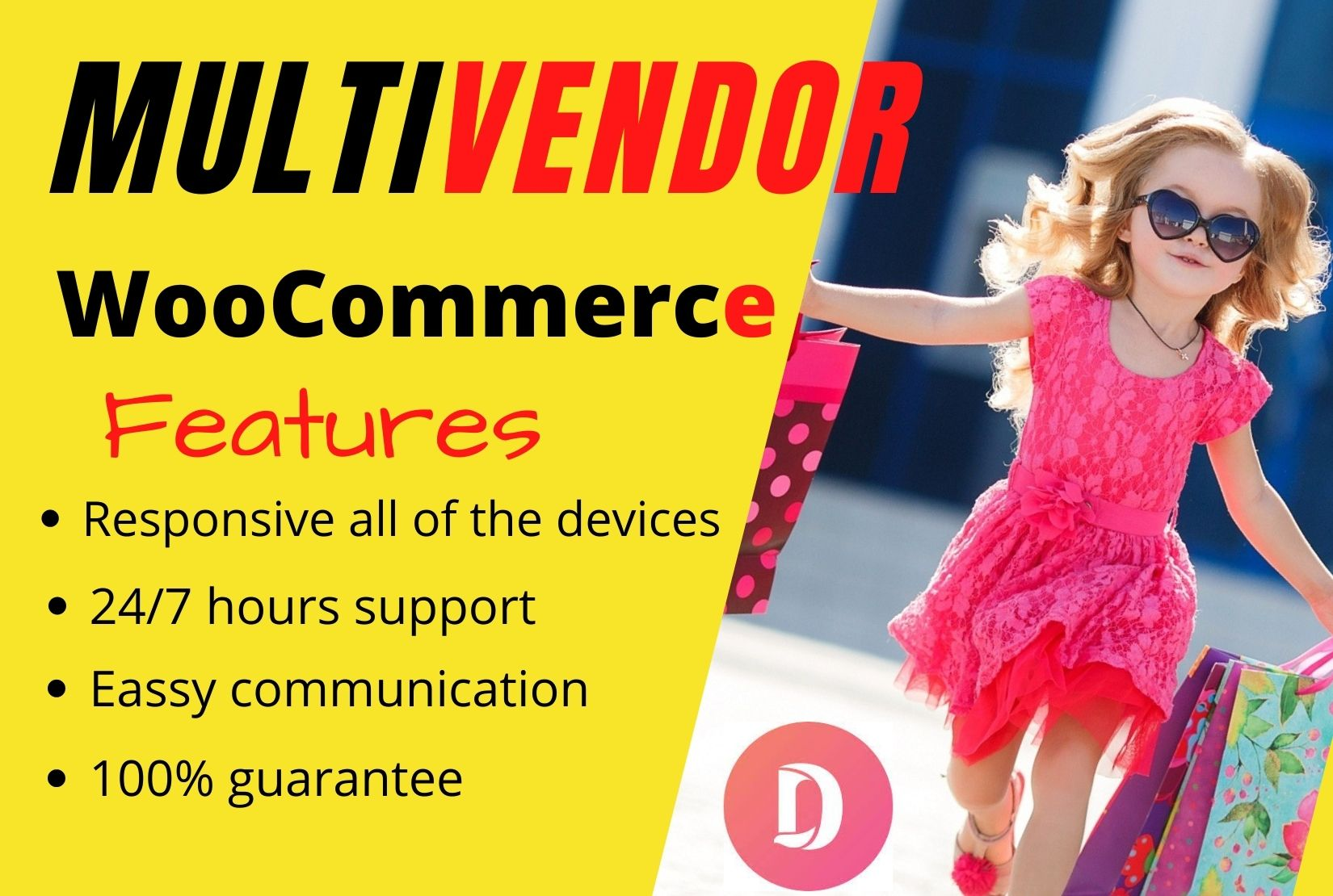 I will design a WordPress Multi Vendor eCommerce website using Dokan & WooCommerce plugin