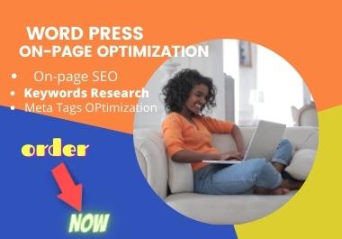 I will do yoast wordpress onpage seo, meta tags optimization