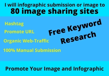 I will infographic submission or image to 30 image sharing sites