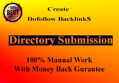 I Will Give 150+ high Quality Unique Directory Submission Backlinks.