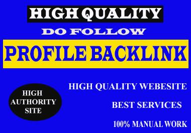 I Will Do 150+ HIGH DA PA Profile Backlinks