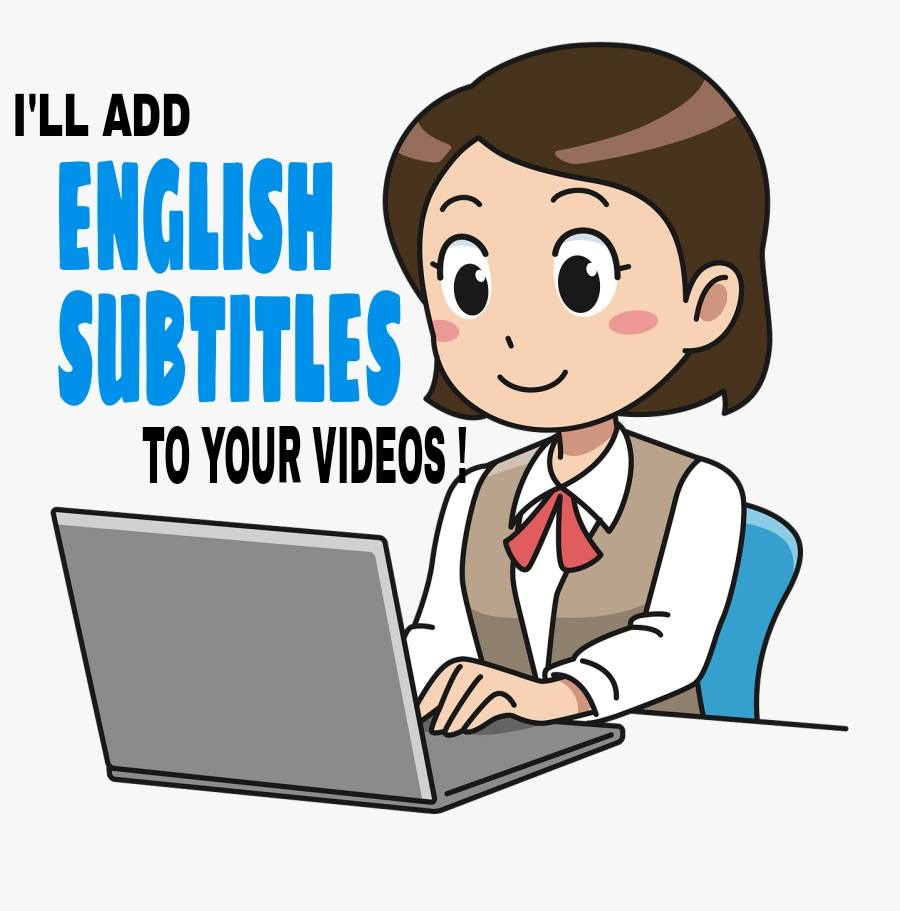 I'll add English Subtitles to the videos