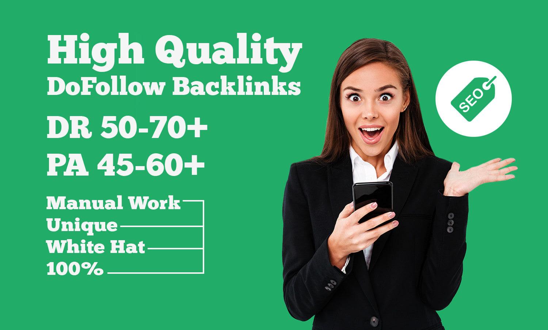 I will build 30+ WEB 2.0 White Hat backlinks for google top rankings