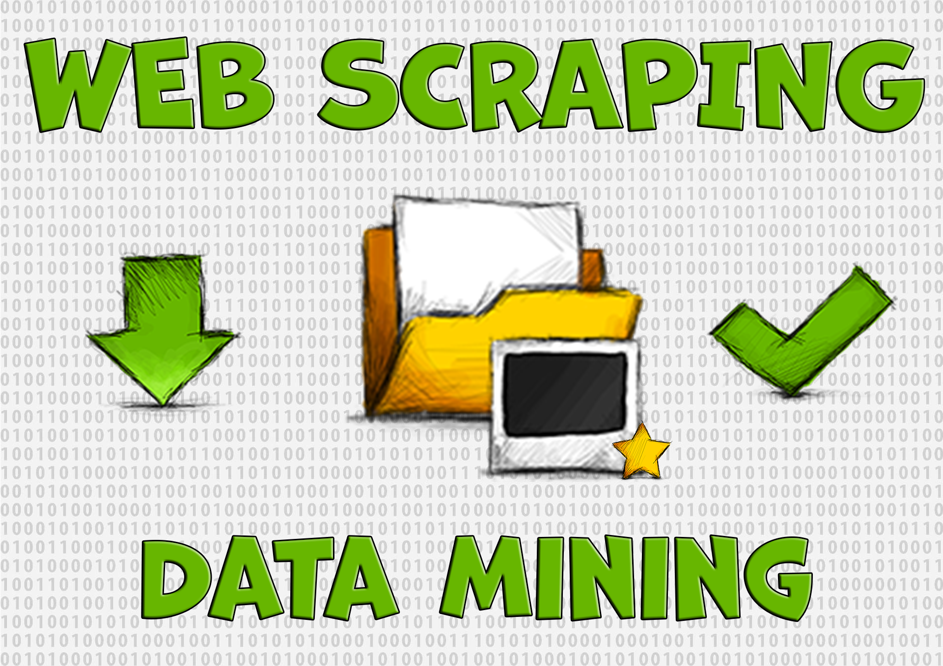 I will do web scraping,  data mining,  extraction,  collection,  web crawling and data scraping
