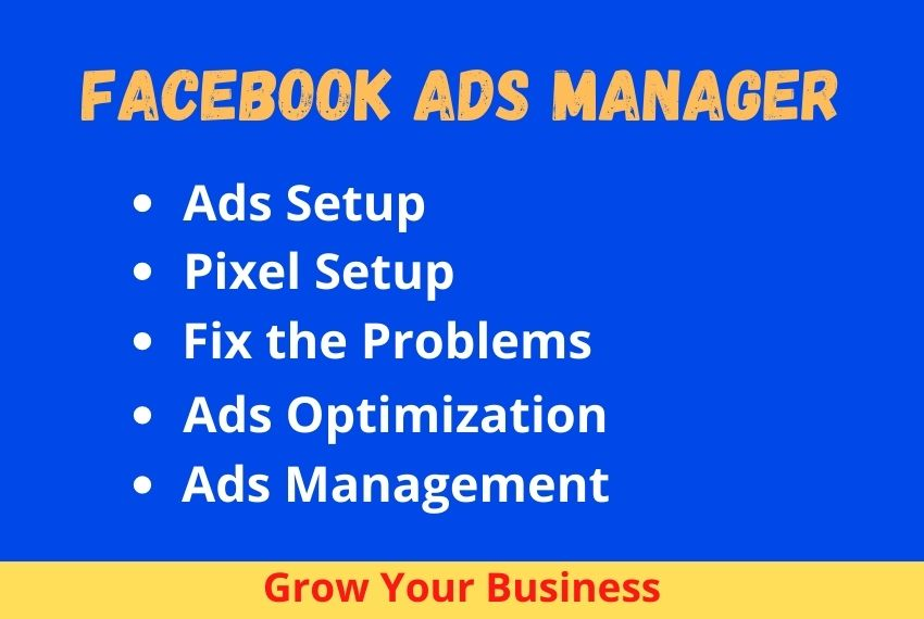 I will be your expert Facebook ads manager