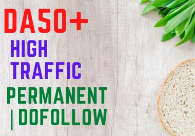 4 Guest post on different health blogs DA50+