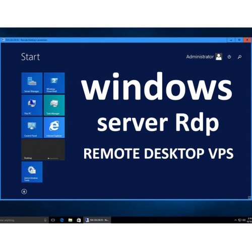 Windows Server 2012-2019 RDP VPS 4GB RAM WITH 80 SSD 2vCPU