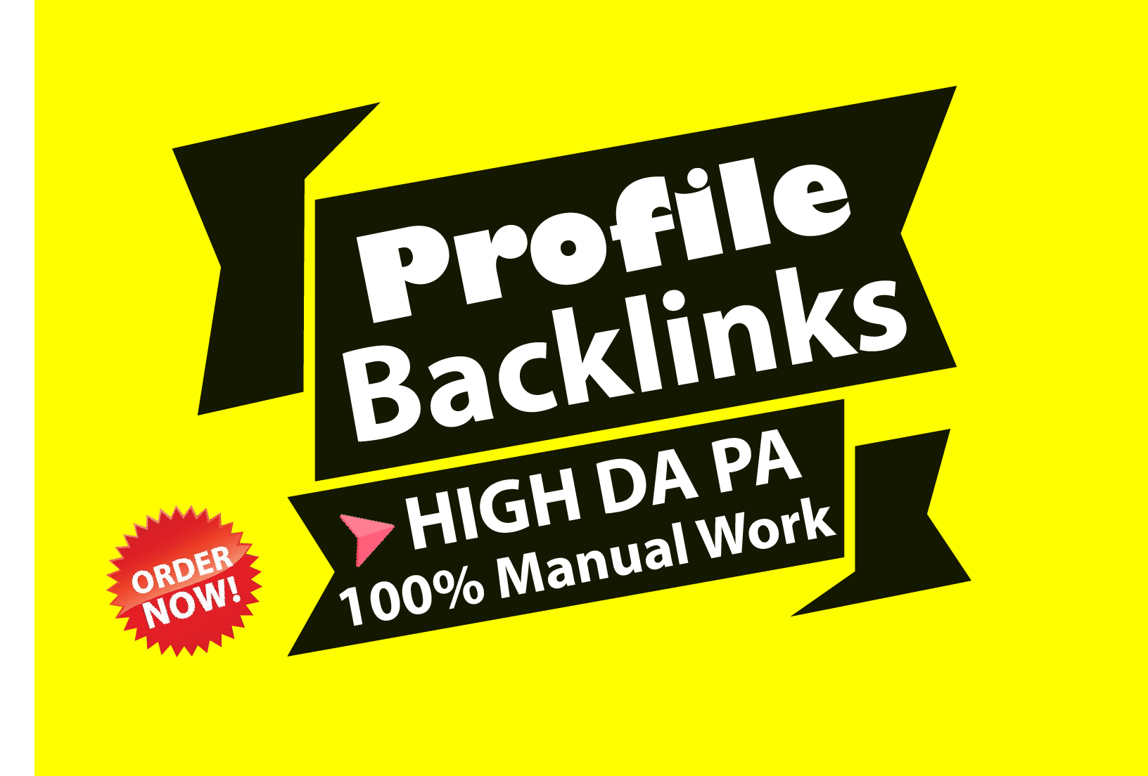 Manually Create 20 High Authority Profile Backlinks