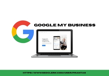 I will create and SEO optimize your Google my business profile