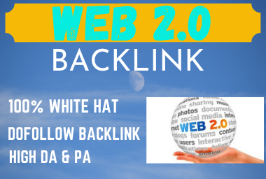 Get 15 Web 2.0 Blog Dofollow Backlinks On High Authority Sites,  Boost Your Keyword Ranking
