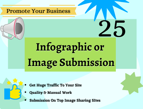 Google Safe 25 Infographic Or Image Submission Backlinks High DA 90 to 50+ Sites