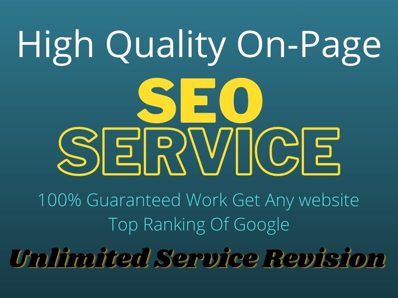 High Quality SEO Service To Get Top Ranking Of Google
