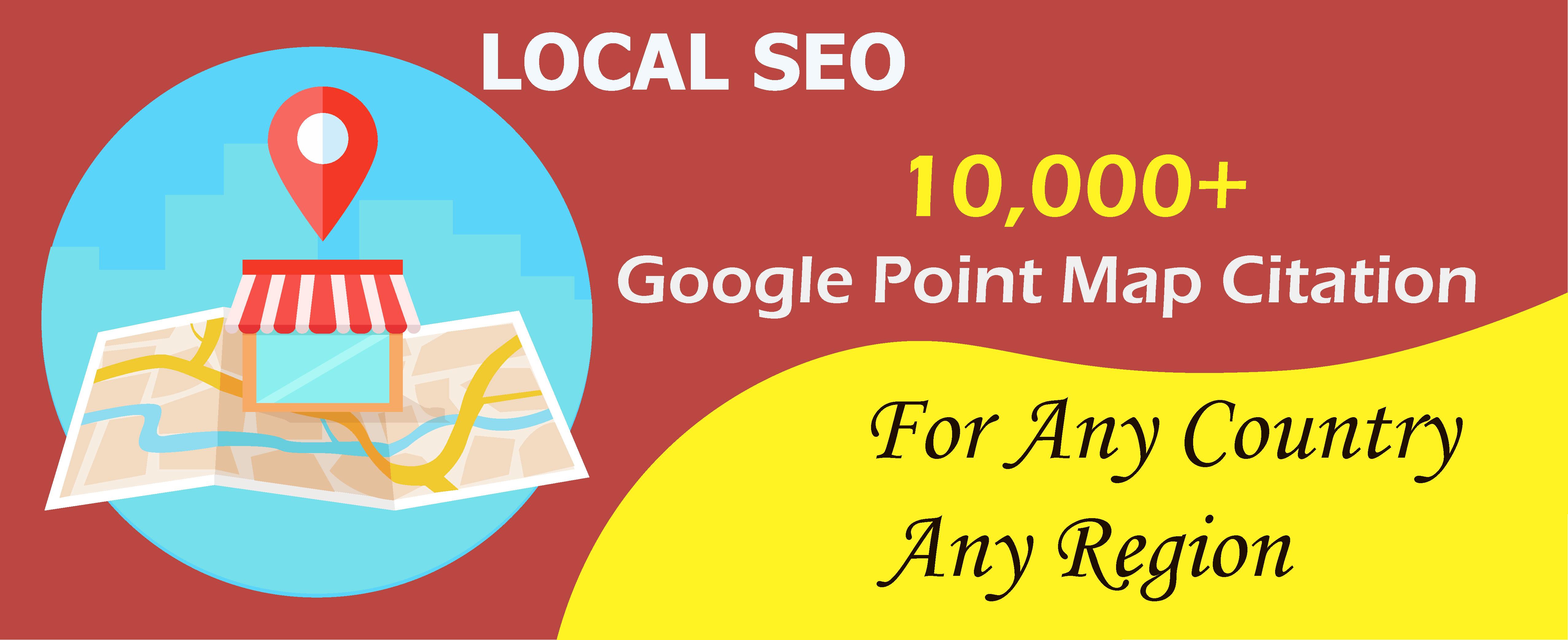 I create google maps citations for local business SEO