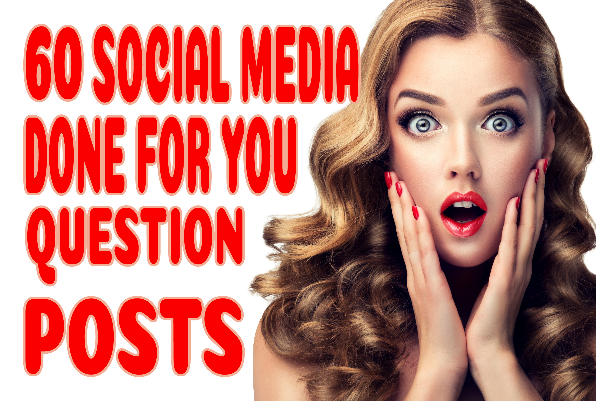 60 Social Media Done for You Question Posts