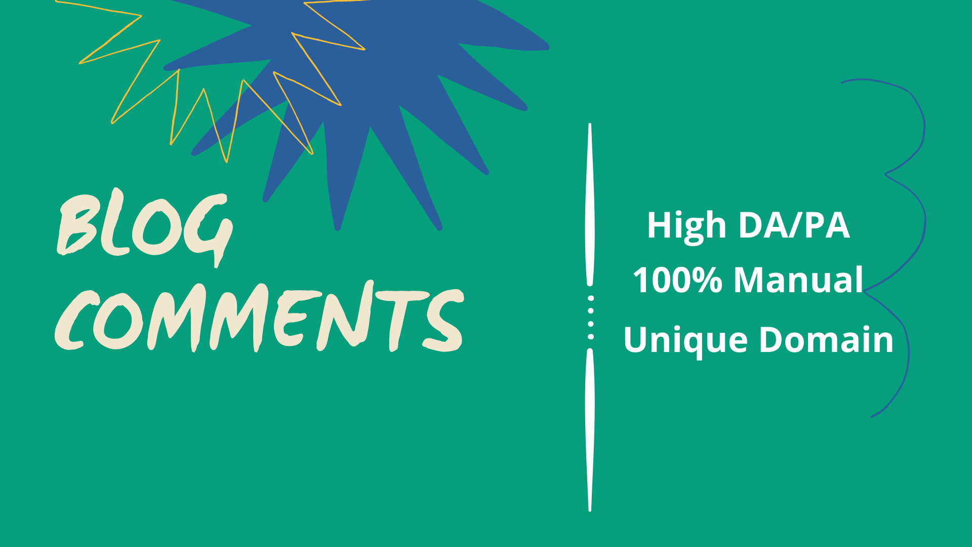 manually and verified 450 niche relevant post comments or blog comments