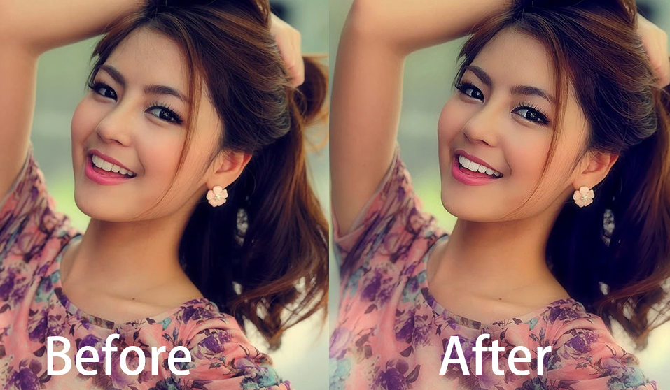 I will do skin retouch,  photo editing and photo review and I can also remove the background