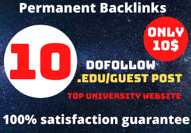 I will publish dofollow 10 guest post promotion on high da sites